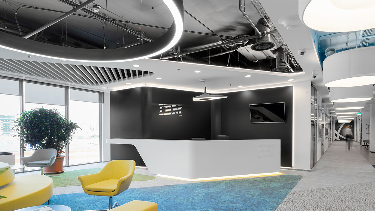 Office lighting - IBM